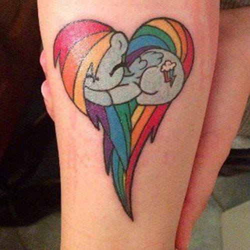 Beautiful Little Pony Tattoos My Little Pony Tattoo Designs   on tattoos is not something that tattoo purists normally likeMy Little Pony Tattoo Designs   on tattoos is not something that tattoo purists normally like