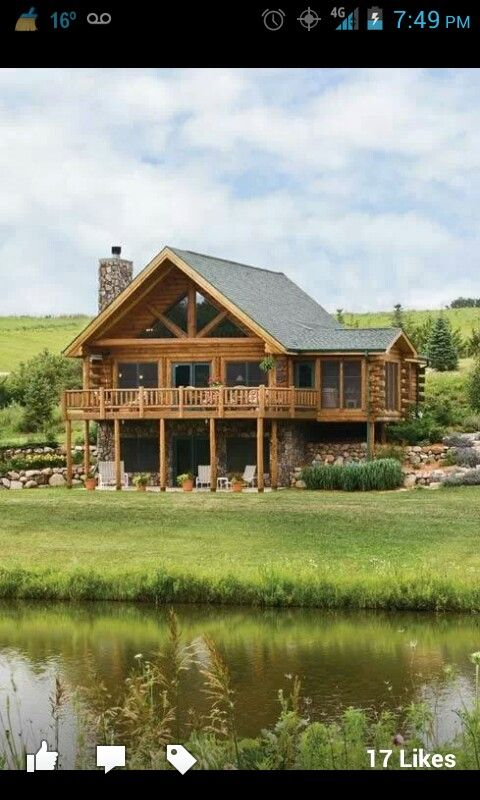 My dream cabin in the mountains