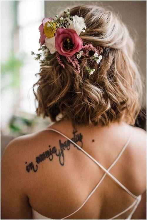 Los peinados de boda más hermosos vistos en Pinterest – Peinado de boda | dulces disfraces  – Boda fotos