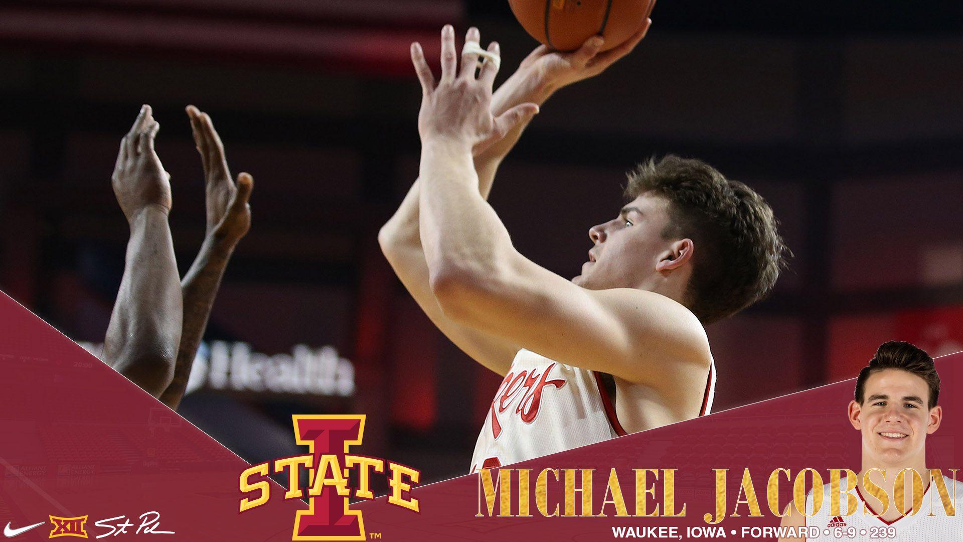Iowa State Gained A Waukee Iowa Native Michael Jacobson As A