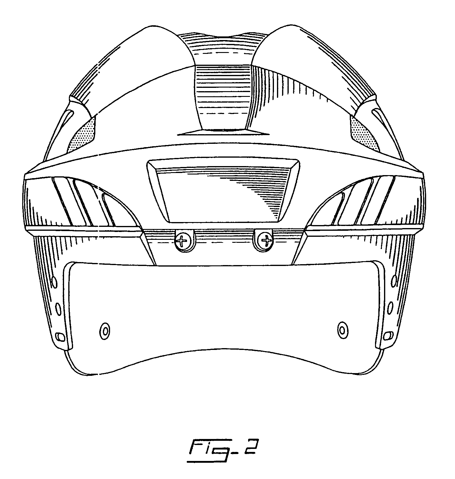 Hockey Helmet Drawing