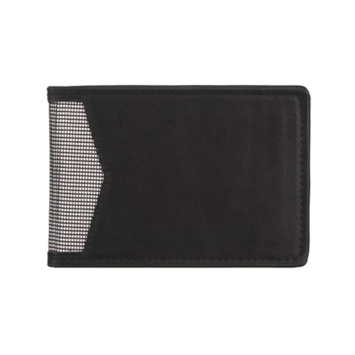 Rfid steel style wallet black wallet steel style