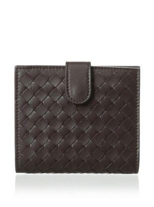 15% OFF Bottega Veneta Women's Small Square Continental Wallet, Ebano
