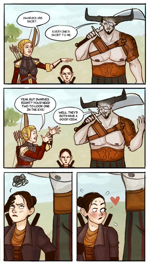 Tashabatata I Heard This Super Silly Party Escapism Dragon Age Funny Dragon Age Memes Dragon Age Series