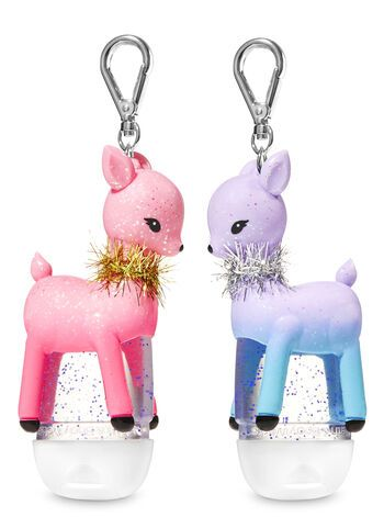 Reindeer Buddies Pocketbac Holders Bath Body Works Hand