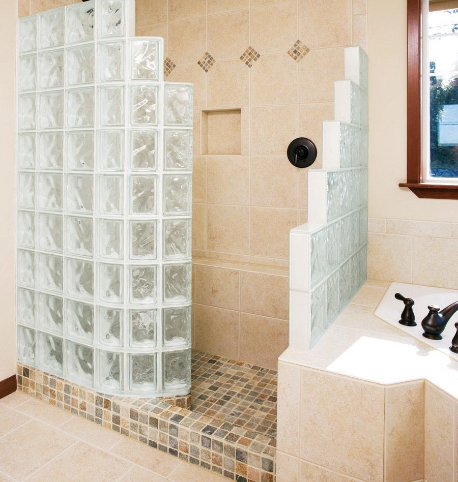 Glass Block Shower & Walk-In Shower Designs - Innovate Building ...