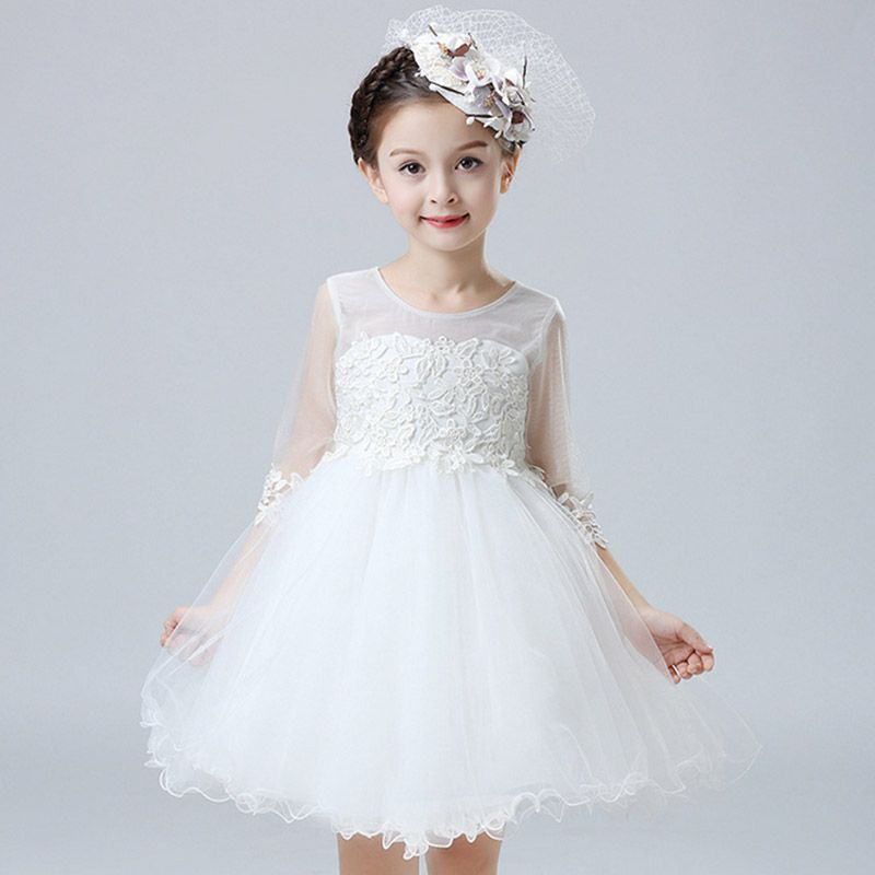 Free Shipping] Buy Best Baby Girls Dress Pageant Wedding Bridal ...