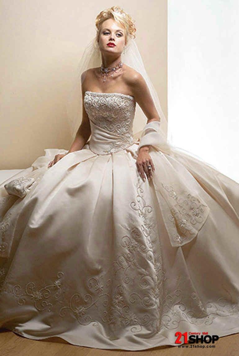 Strapless ball gown wedding dresses  Strapless Ballgown Style Wedding Dresses SR Bridal  shop