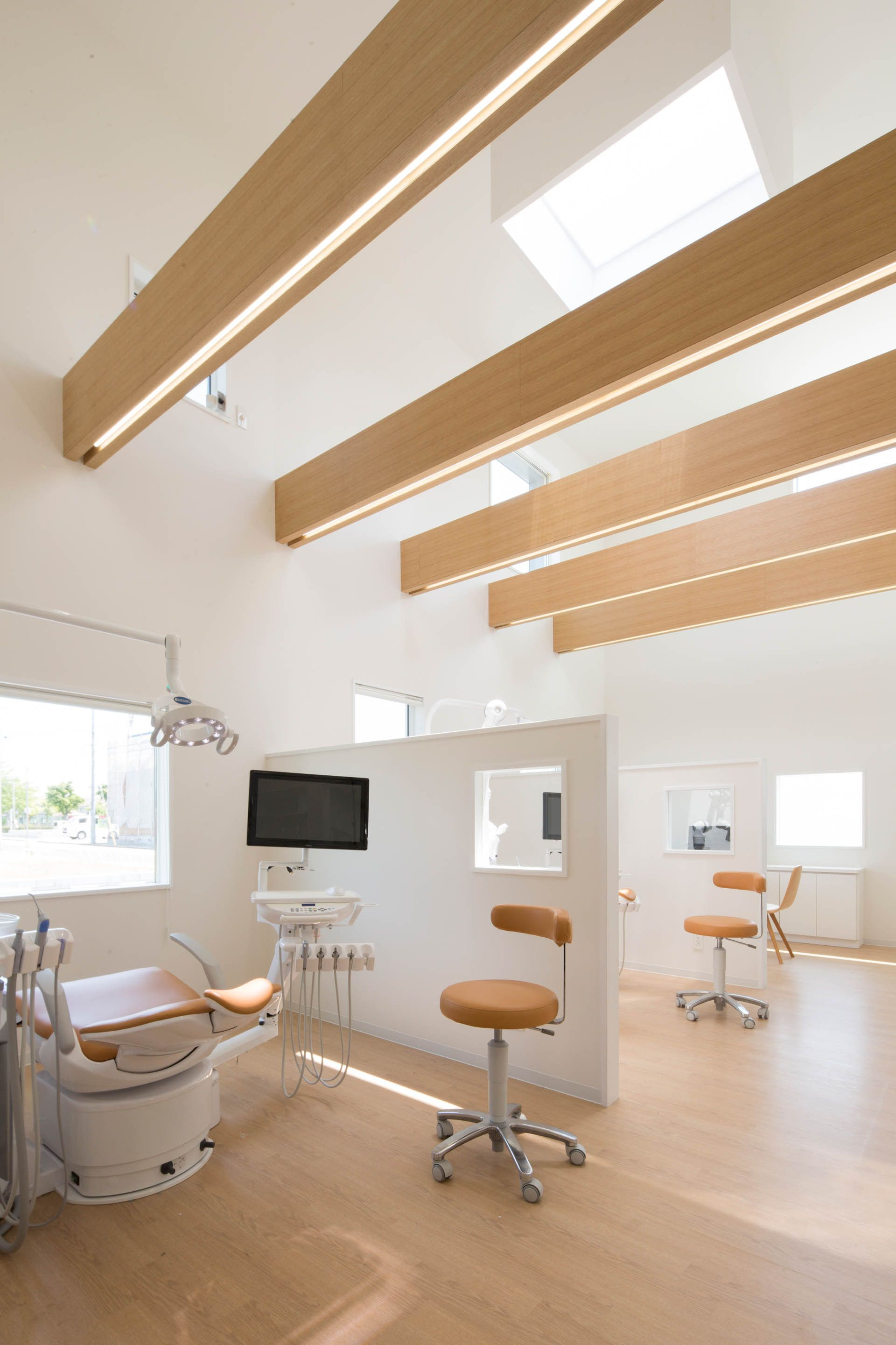 Image 7 Of 23 From Gallery Yokoi Dental Clinic Iks Design Msd Office Photograph By Keisuke Nakagami