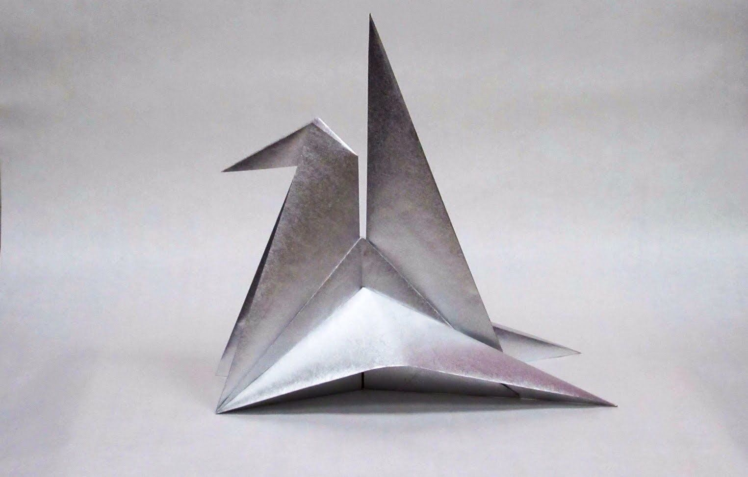 Crane Stand by David Wires / unfolding and refolding demo