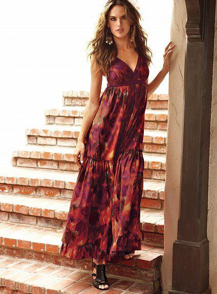 Dluga Boho Maxi Sukienka Victoria S Secret Xl 42 Summer Fashion Dresses Summer Dresses Victoria Secret Summer Dresses