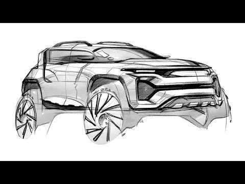 How to sketch car & design - YouTube