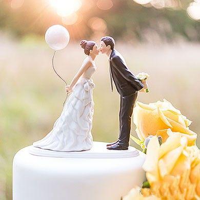 Topo De Bolo De Casamento 22 Inspirações Figurines