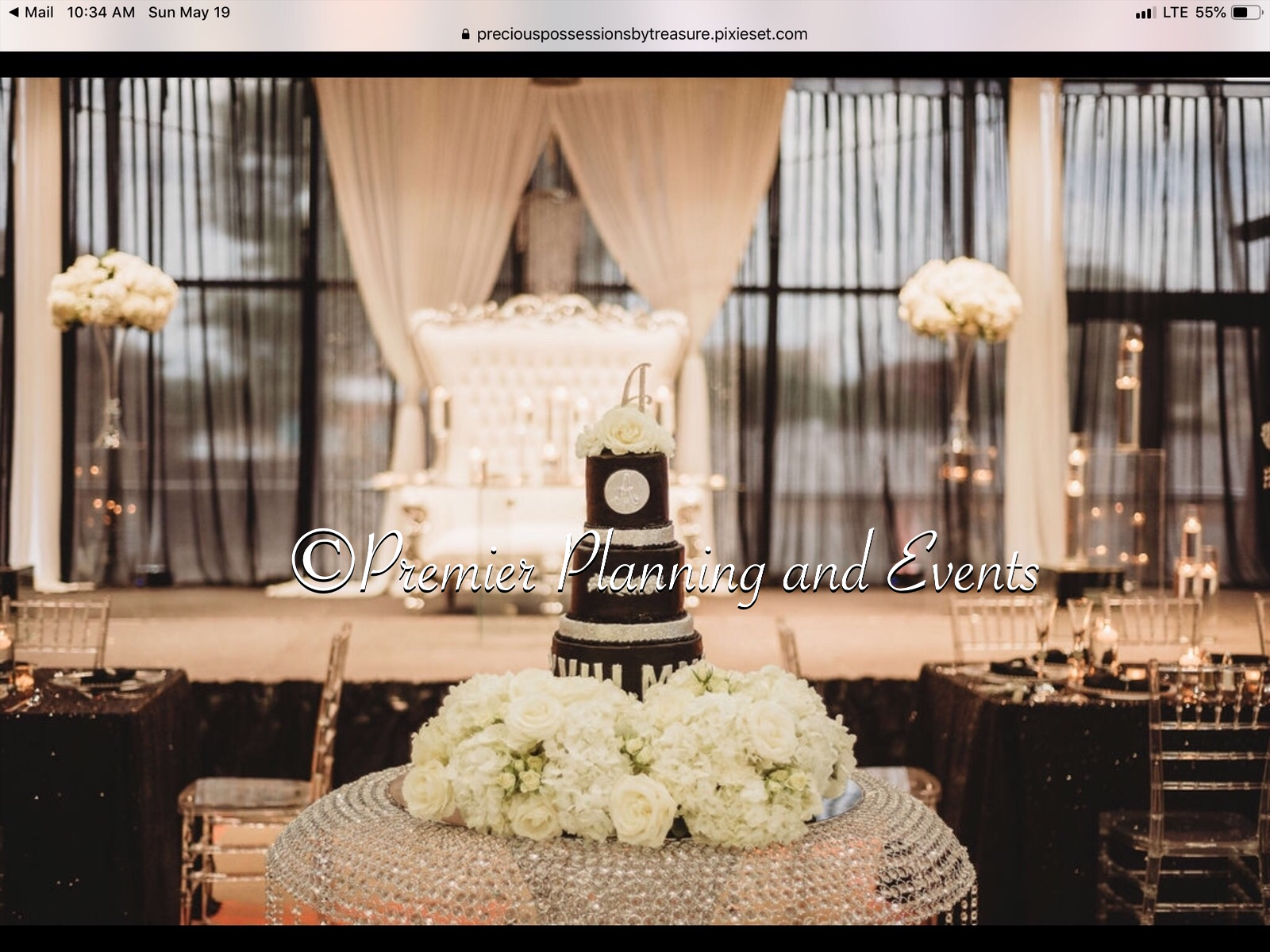 Pin By Premier Planning And Events On Black And White