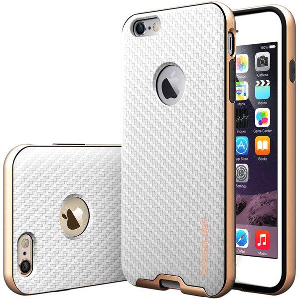cca893bfb57 Caseology® iPhone 6 Plus case [Envoy Series] [Carbon Fiber White] Carcasa
