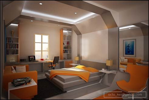 40 Marvelous Bedroom Interior Design Ideas | Teenage guys, Room ...