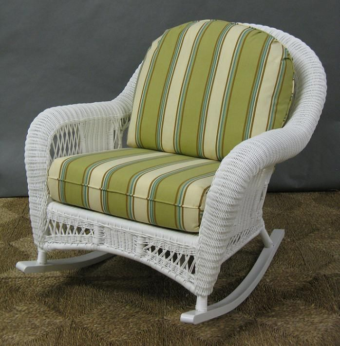 Genial St Lucia Outdoor Wicker Rocker All About Wicker   Your Online Source For Wicker  Furniture And