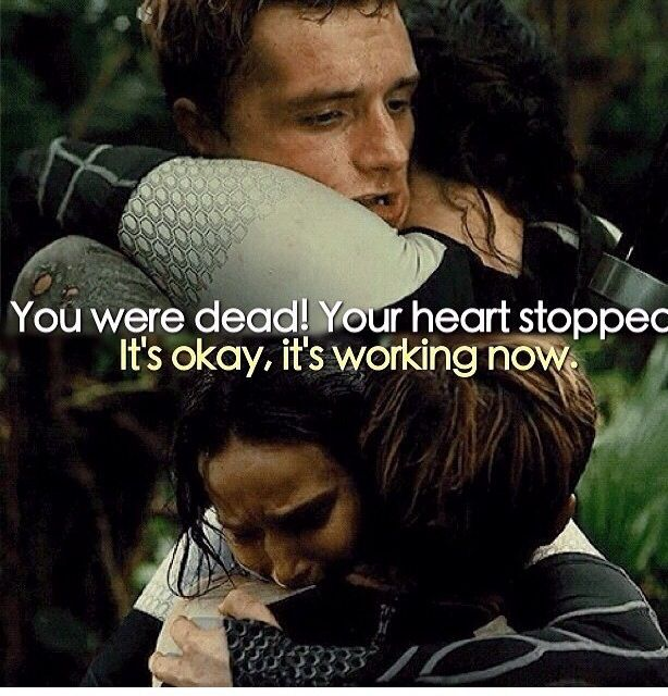 The hunger games catching fire movie quotes the hunger games catching fire movie quotes peetaandkatnissbestscene voltagebd Gallery