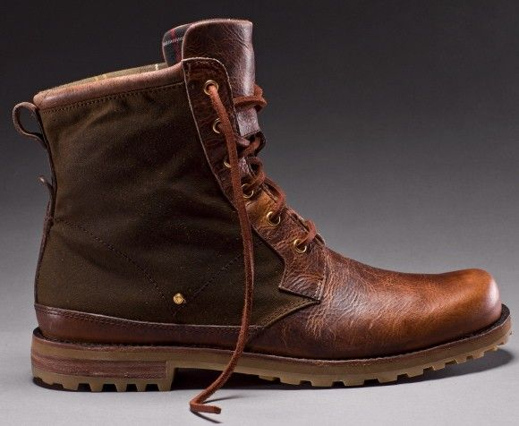 Classic British Outerwear-Barbour Boots for Rockport USA | Fashion ...