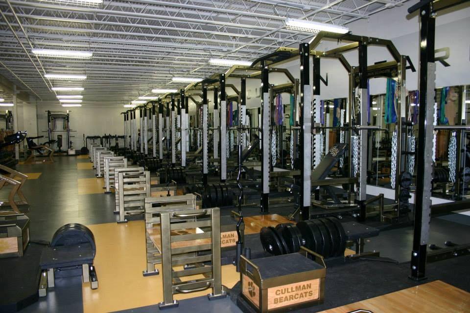 Cullman High School Weight Room Installation Sports