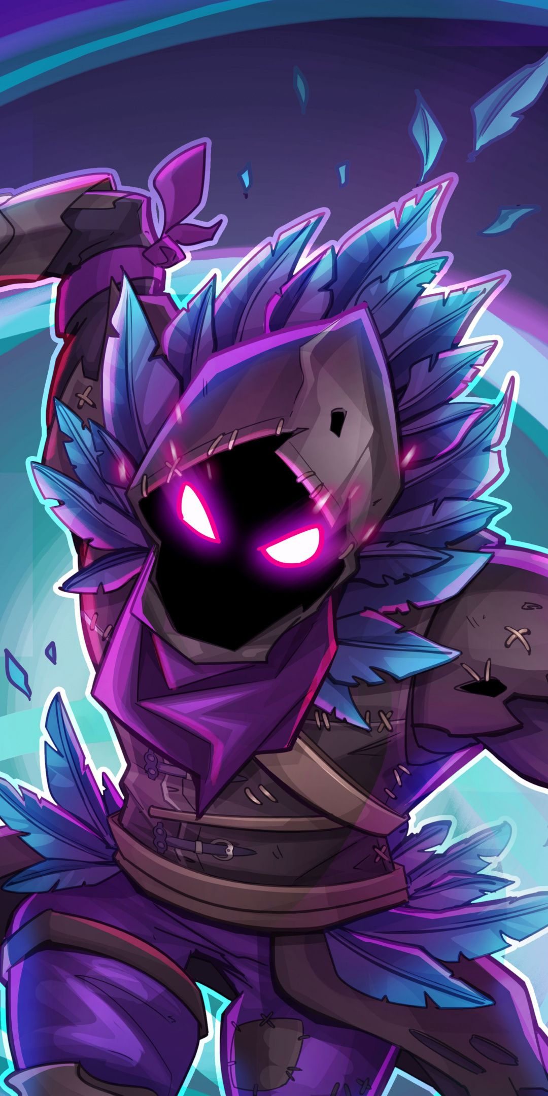 Raven wallpaper, Fortnite Battle Royale, creature, game