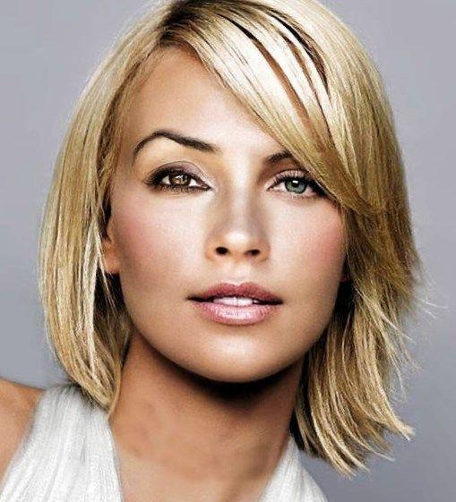 Frisuren Frauen Mittellang 2016 Haare Pinterest Hair Styles