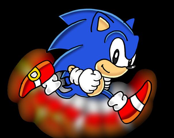 Classic Sonic Running Png Classic Sonic Sonic Sonic Dash