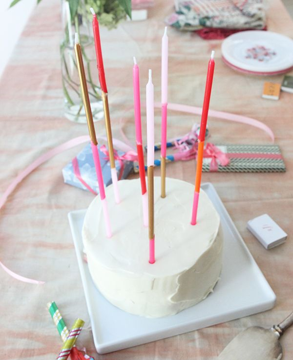 DIY Extra Long Cake Candles For When Theres Just Too Much Birthday A Normal Candle To Handle