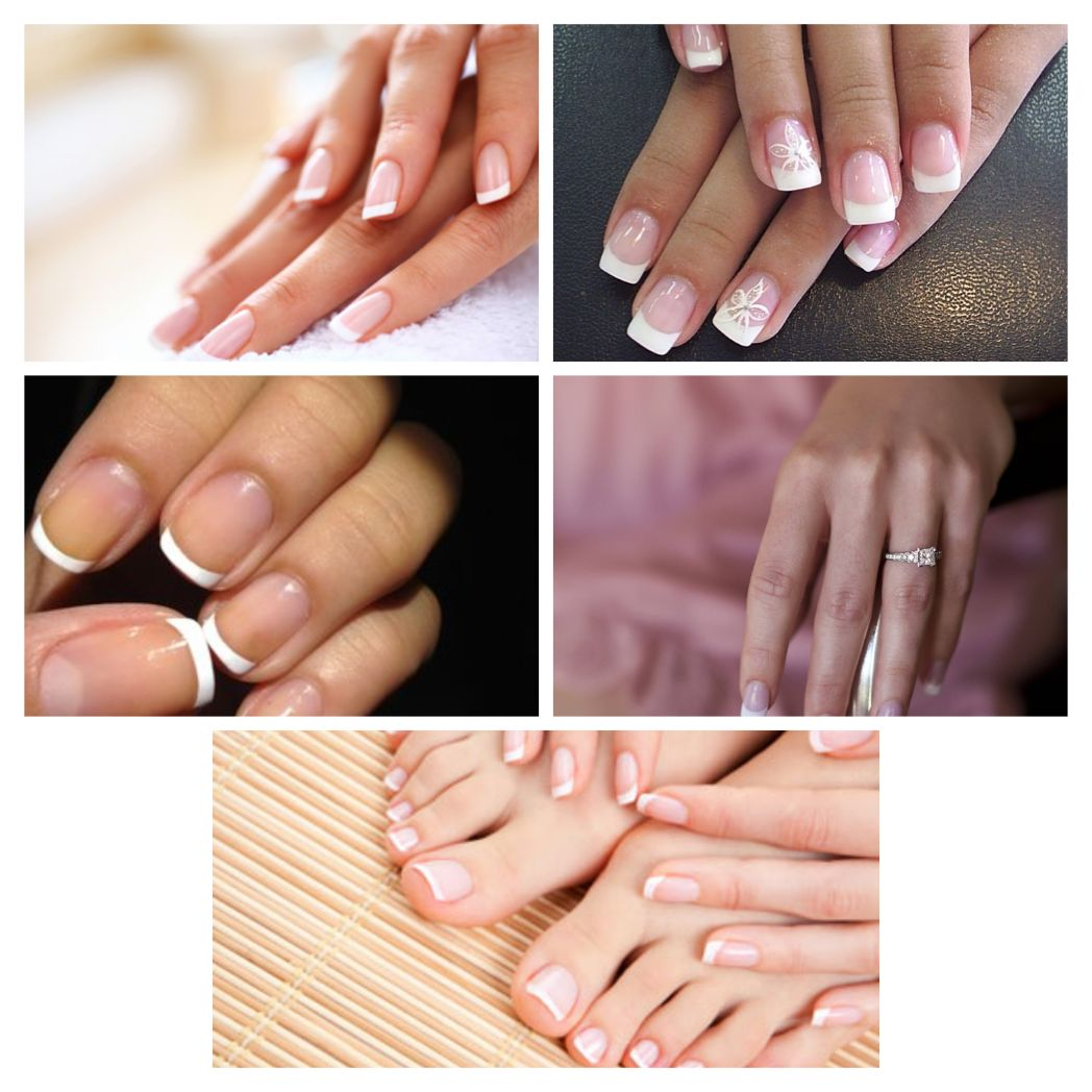 Wedding nails...au naturale