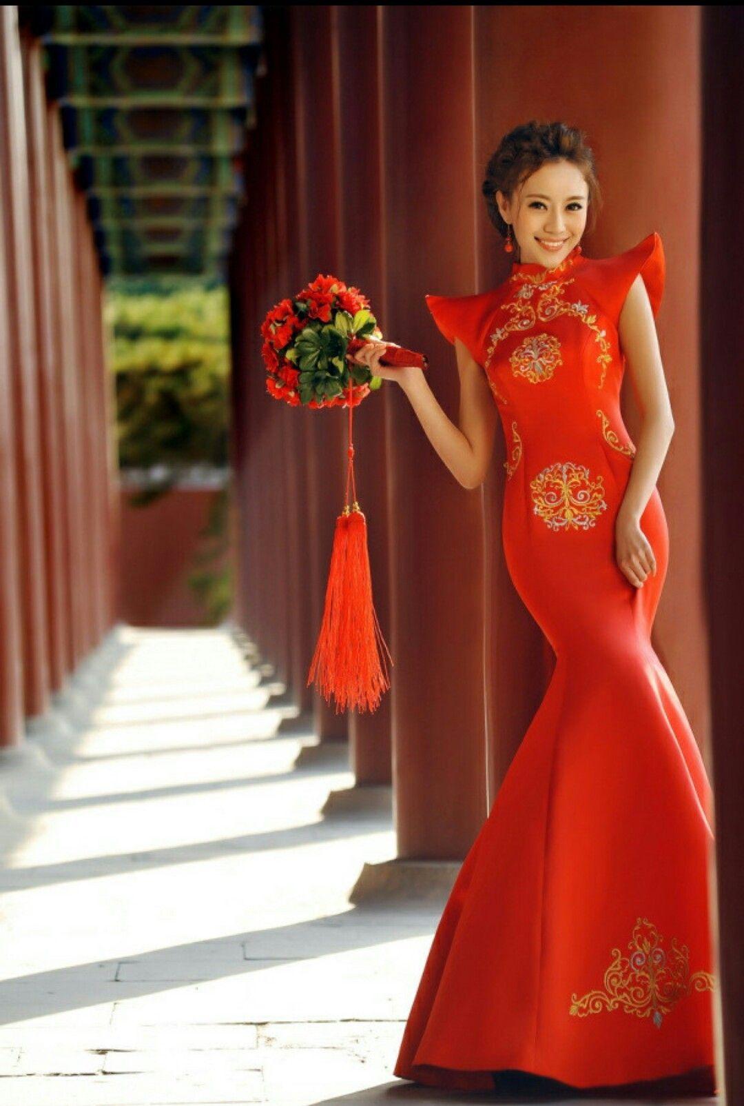 Asiatische Kleider