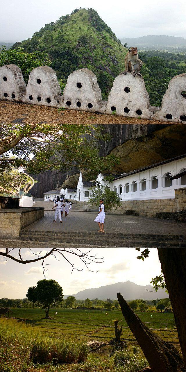 Images from the Dambulla Cave Temple, Dambulla, Sri Lanka #SriLanka #Dambulla #Temple #Buddhism