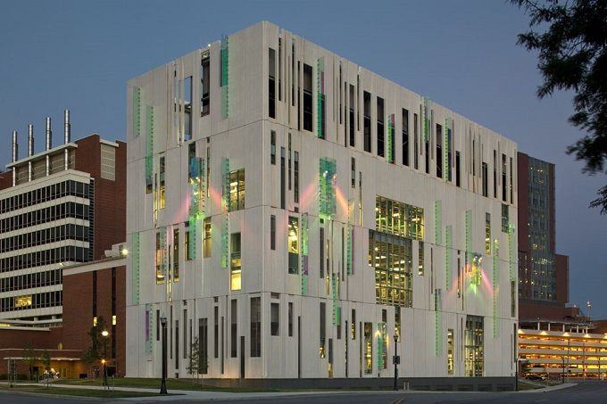 Ohio State University South Campus Central Chiller By Ross Barney Architects Nice Ideas