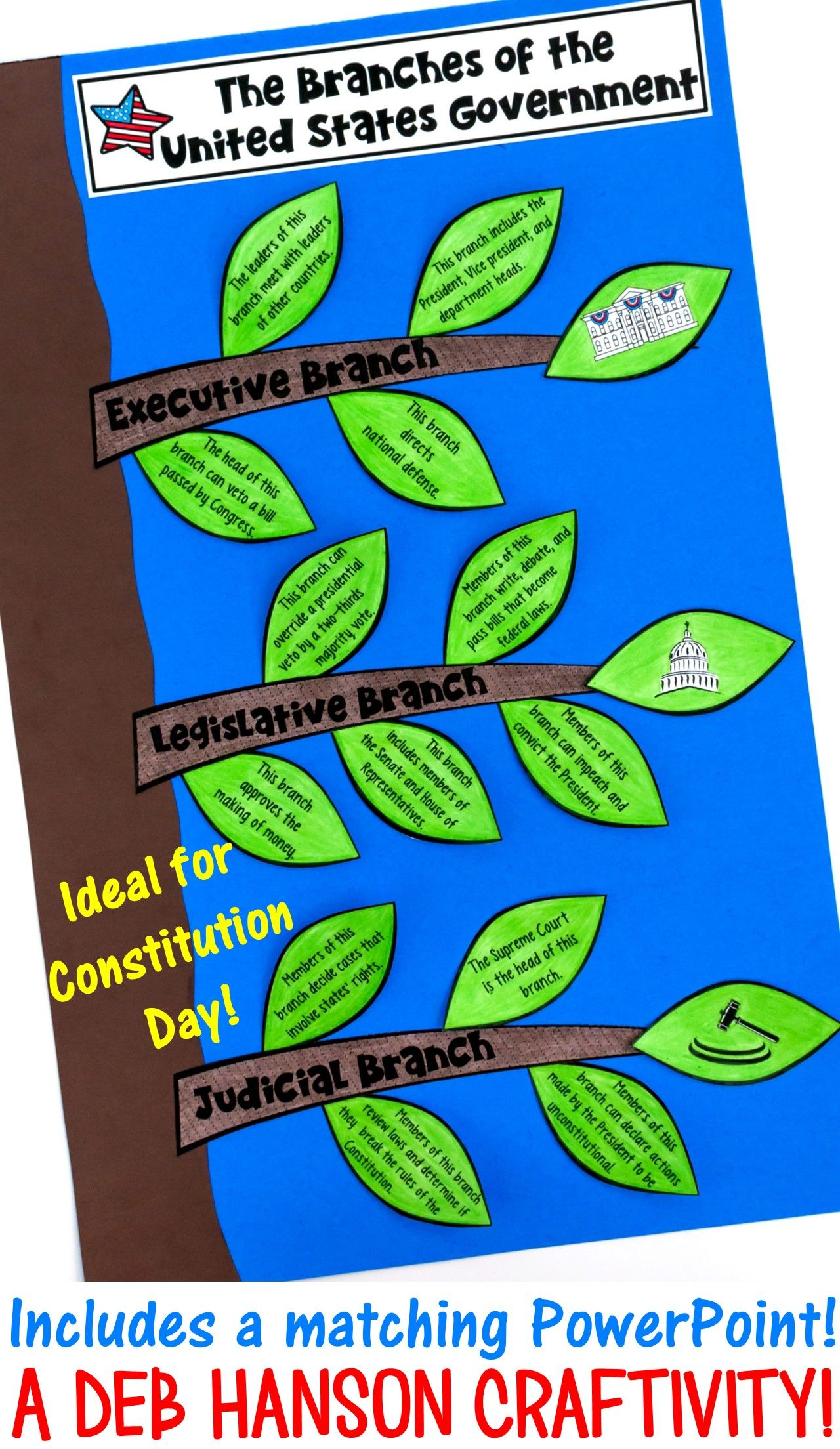 Constitution Day Activity Set Powerpoint Amp Craftivity