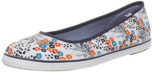 Keds Women's Champion Skimmer Floral Ballet,White/Red/Blue,5.5 M US Keds, http://www.amazon.com/dp/B005NHS5RA/ref=cm_sw_r_pi_dp_O8QPpb0YXP9HS