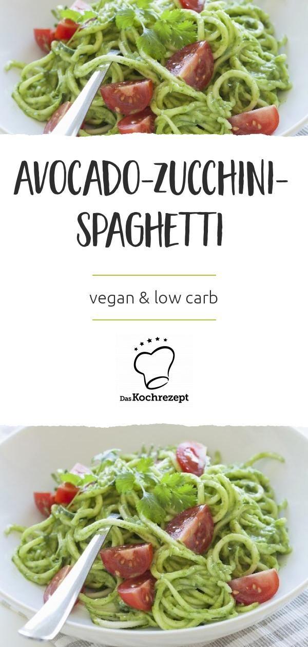 Photo of Avocado Zucchini Spaghetti
