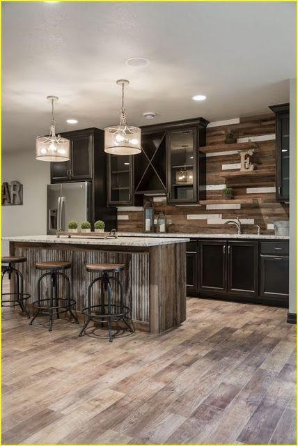 40 best farmhouse kitchen decor ideas and remodel luxury vinyl plank flooring luxury vinyl on farmhouse kitchen flooring id=32646