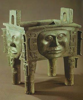 殷の青銅器 the Yin bronze ware   青銅器, 古代, 彫刻