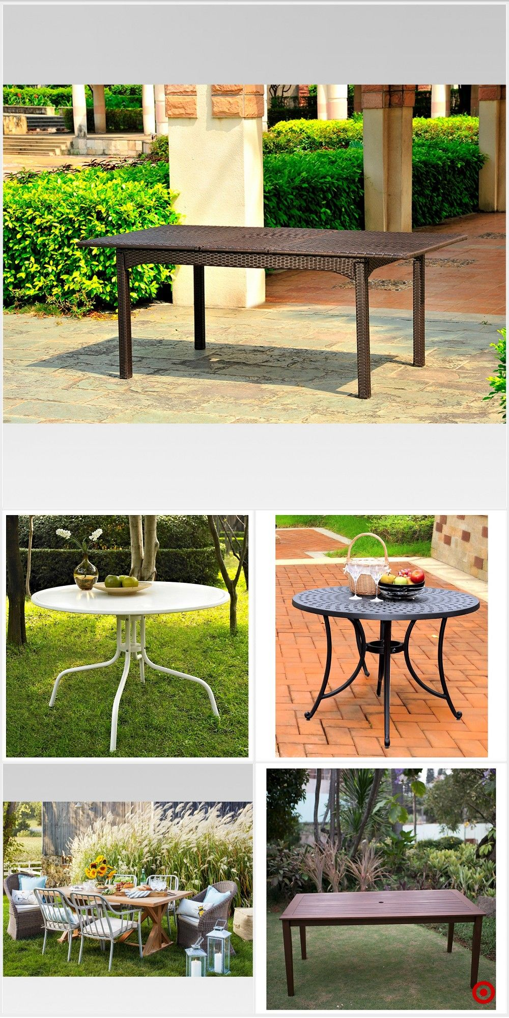 Target For Patio Dining Table You Will Love At Great Low Prices Free Shipping On Orders Of 35 Or Same Day Pick Up In