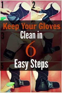 Kickboxing Loganville – 6 Easy Steps to Keep Your Gloves Clean
