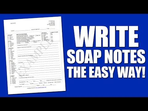 Soap Note Example u2026 List for Notes Pinterest Soap note, Note - customize my clinical notes