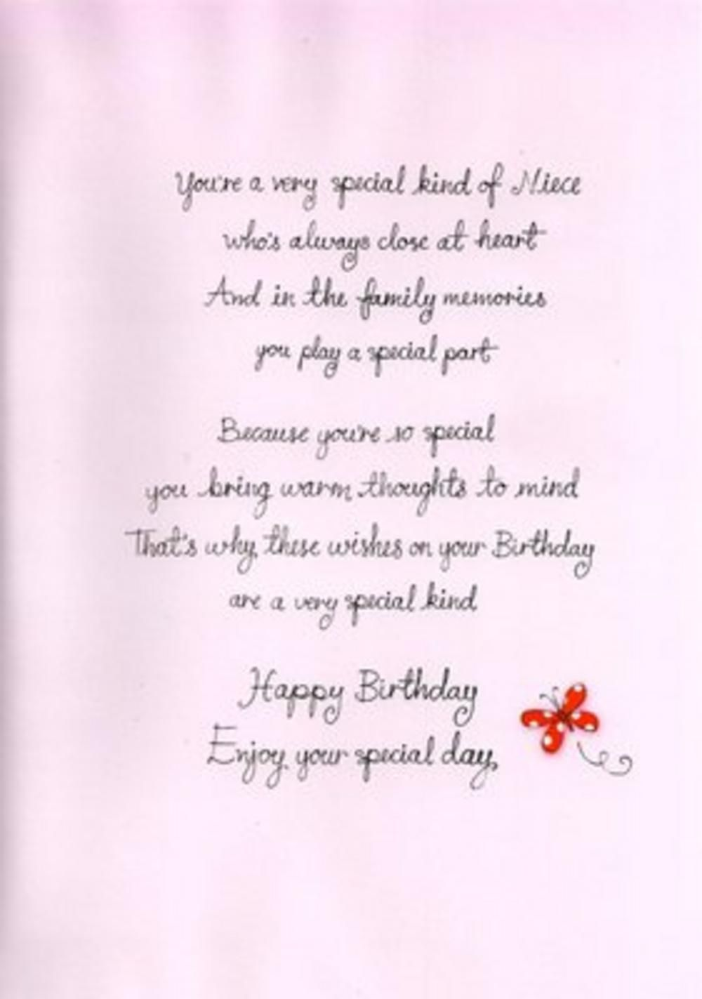Found On Bing From Www Poemsearcher Com Birthday Verses For Cards Birthday Verses Niece Birthday Quotes