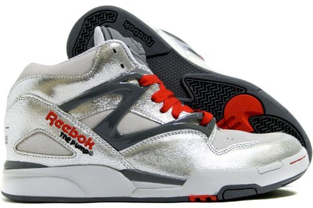 Limited Edition Reebok Pump Omni Lite (Silver Metallic Pack) Size 8  Reebok   AthleticSneakers d665f0ae1