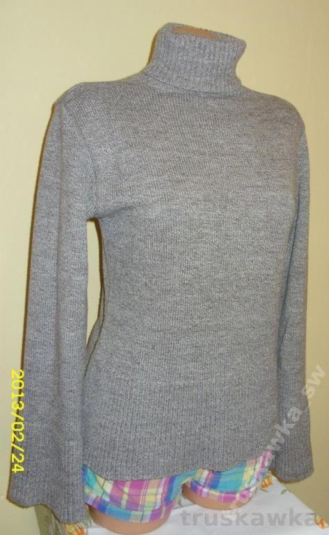 Cieply Golf Damski Rozmiar 36 3573229098 Oficjalne Archiwum Allegro Turtle Neck Sweaters Fashion