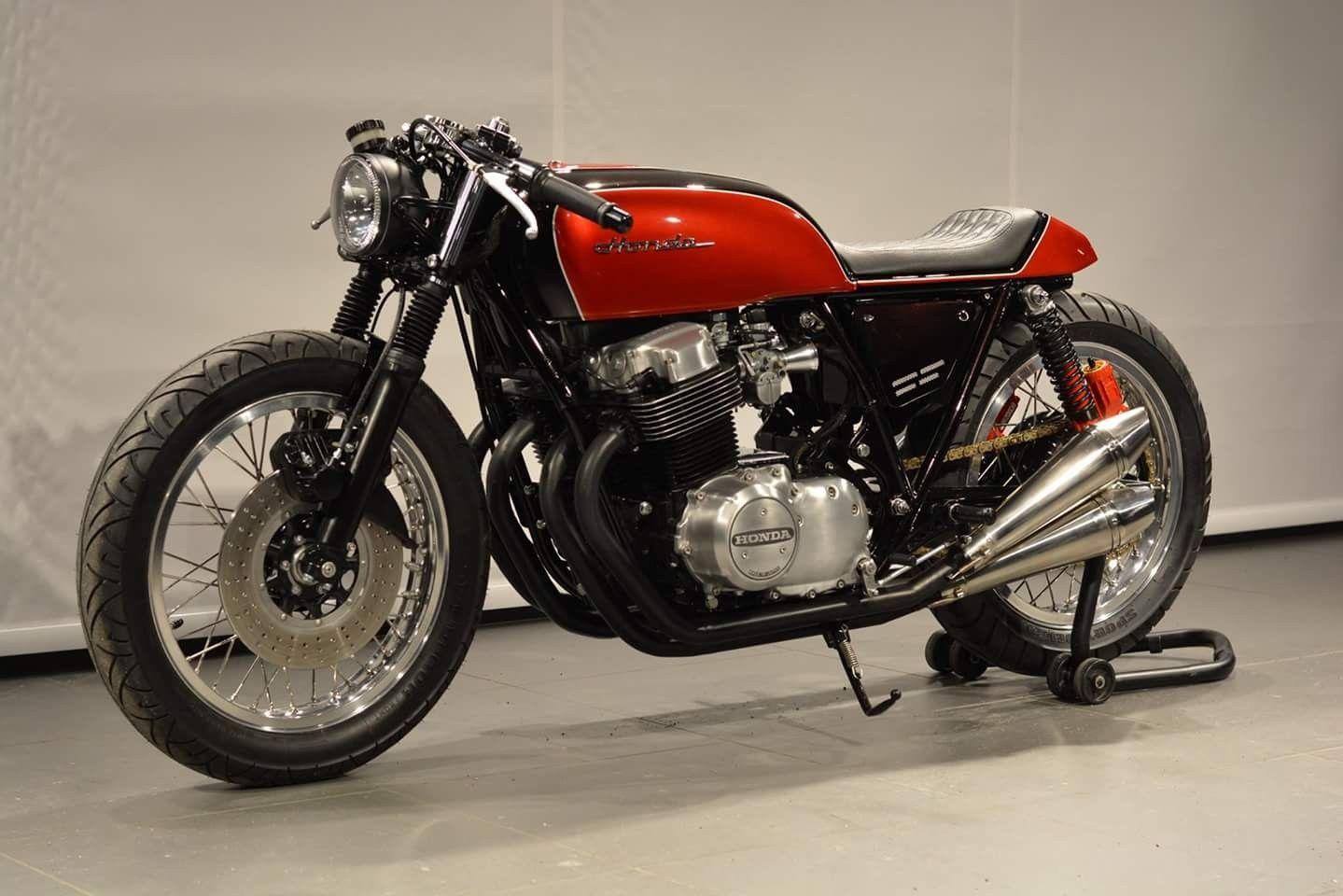 Honda CB750 Cafe racer honda, Cafe racer, Cafe racer design