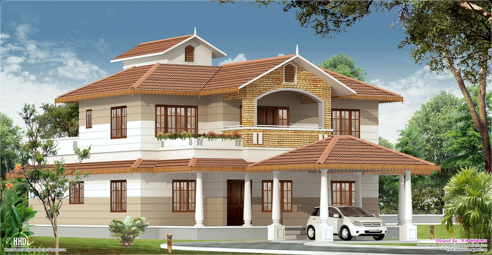 Kerala style home interior designs designers kannur kerala for House plan kerala style free download