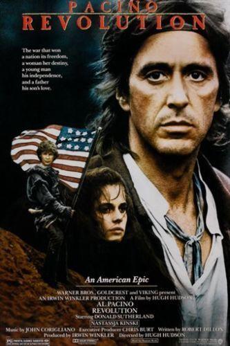 AL PACINO REVOLUTION vintage movie poster AMERICAN REVOLUTIONARY WAR 24X36