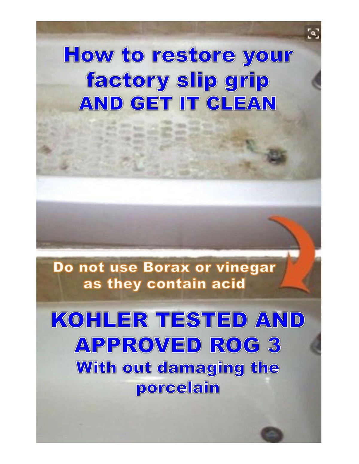 How To Clean A Kohler Tub Cast Iron Fiberglass Acrylic