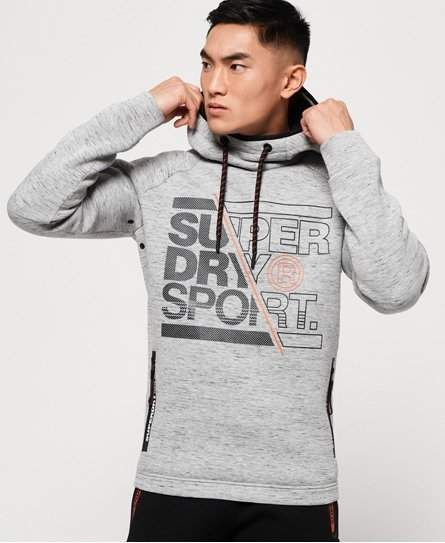 wholesale dealer 73f6d 546eb Superdry Gym Tech Stretch Graphic Overhead Hoodie in 2019 ...