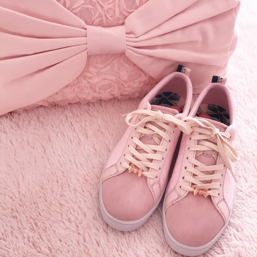 Treated Myself To These Pretty Trainers From Ted Baker Ted Baker Shoes Cute Shoes Wedding Sneaker
