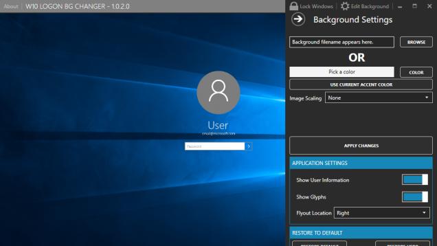 This Utility Can Change Your Windows 10 Login Image Windows 10 Windows Aesthetic Desktop Wallpaper